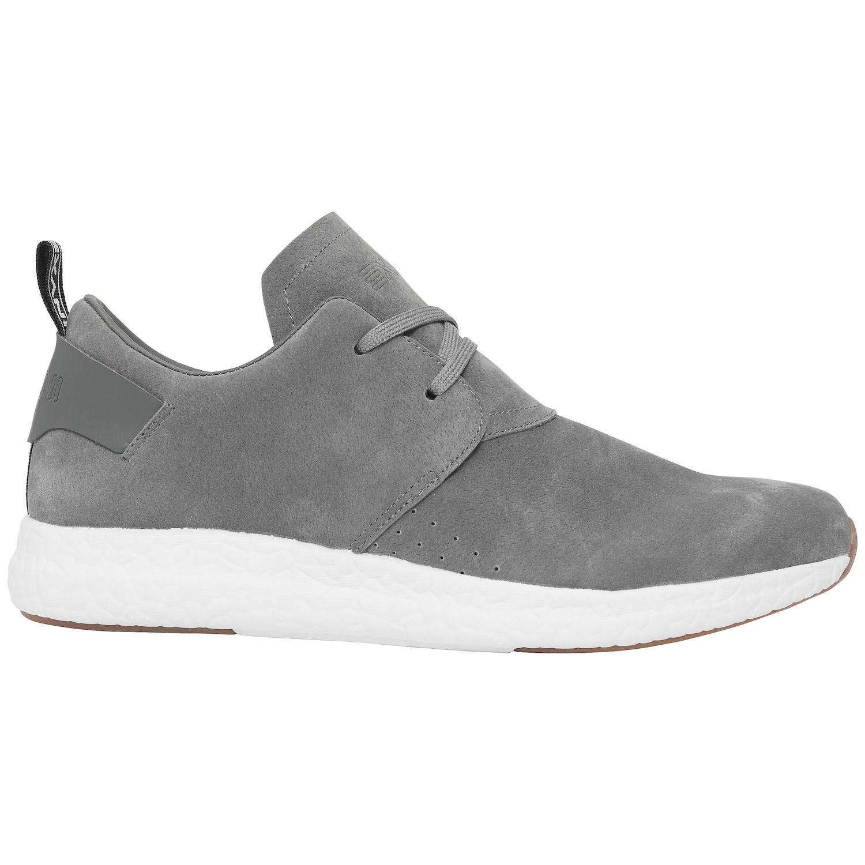 Exani EMPERIOR STREET är en grå sko med en ovandel i mockaimitation