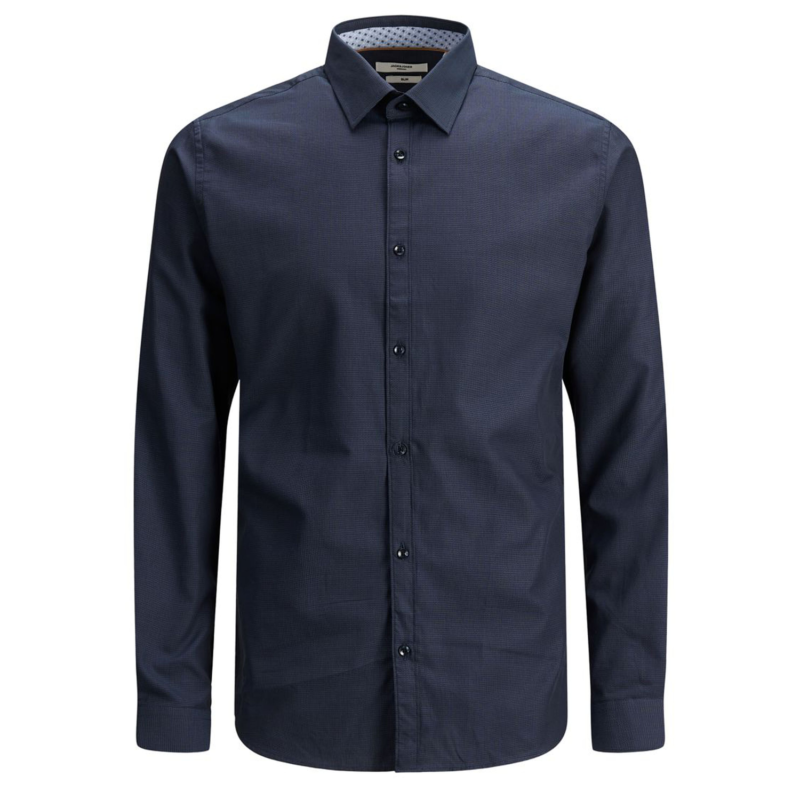 Jack & Jones Graduation Shirt mörkblå fram