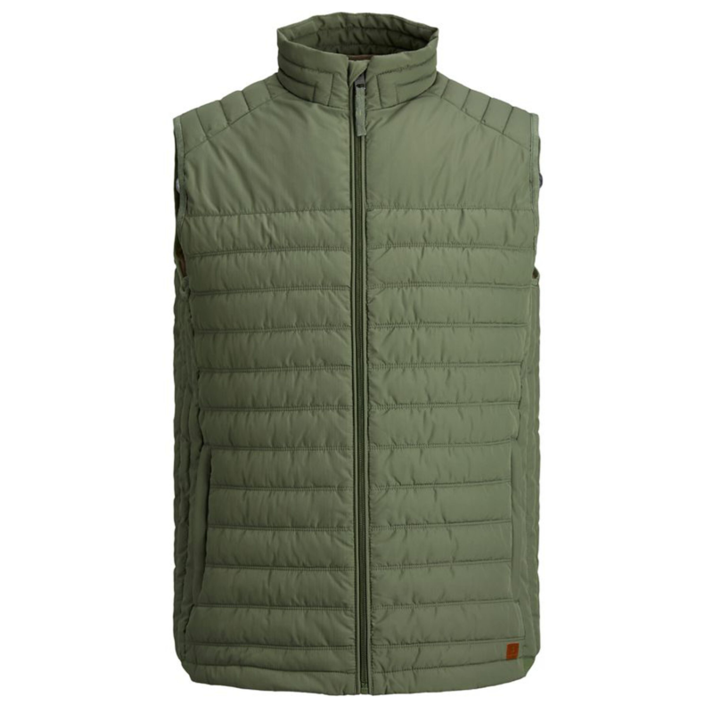 Jack & Jones Light Vest grön fram