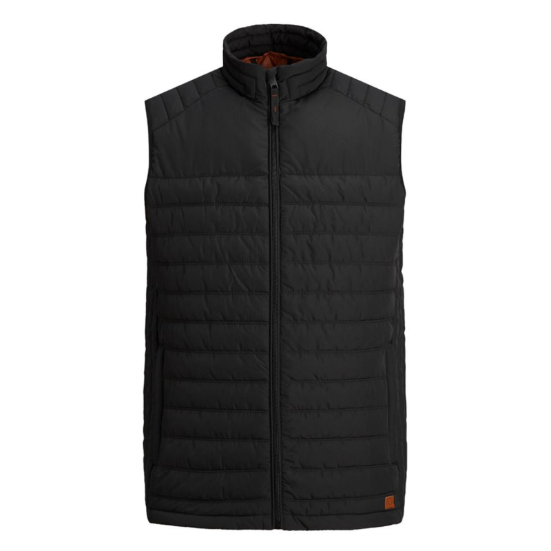 Jack & Jones Light Vest svart fram