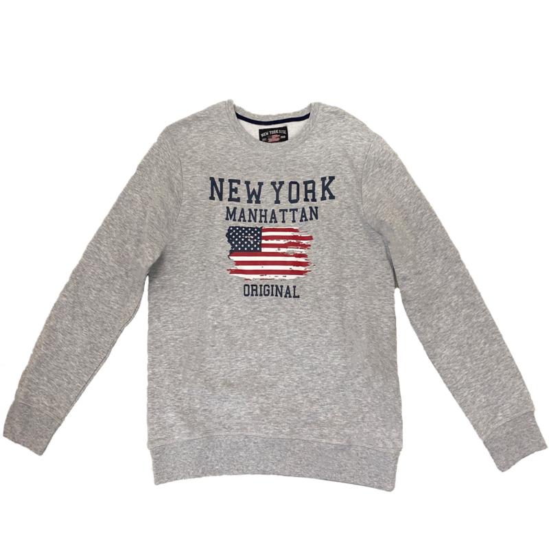 Polo Club Sweatshirt grå fram