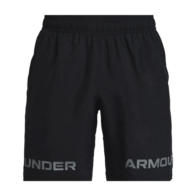 Under Armour Woven Graphic Shorts svart fram